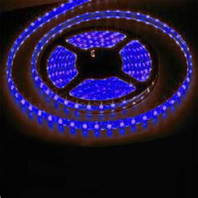 Светодиодная лента Smd 3528, 60 Led/м, 4.8W/м, 12V, IP33, свет синийИнтерьерная<br>Светодиодная лента SMD 3528 используется для  подсветки архитектурных и интерьерных элементов. Арки, потолочные и декоративные ниши, подвесные потолки, барные стойки, светопрозрачные конструкции будут выгодно освещены, а пульт управления цветом позволит выбрать стиль освещения по вашему вкусу и настроению.  Гибкая светодиодная лента SMD 3528 выполнена на основе гибкой самоклеящейся печатной платы с прочным клеевым слоем «3М» и светодиодов с тремя кристаллами в одноим чипе. Имеется возможность деления на отрезки по 3 светодиода (10 см) без потери их работоспособности, каждый участок может использоваться отдельно. Работает на низковольтном напряжении 12V (постоянного тока DC), что обеспечивает безопасность и экономичность использования. Лента имеет 3 независимых канала для подключения к контроллеру. Широкий угол 140° (рассеянного) свечения. Эффективный срок службы более 50 000 часов.  Размер:5000 х 10 х 2 ммРабочее напряжение: 12V DCПотребляемая мощность: 4,8 Вт/метрСветовой поток: 180 Лм/мКол-во светодиодов: 60 шт./метрУгол излучения света: 140°Рабочая температура: -40 до 80 °CКратность резки: 5 см (3 светодиода)    Цена указана за 1 метр, минимальный заказ - 1 катушка (5 метров).<br><br>Тип лампы: LED - светодиодная<br>MAX мощность ламп, Вт: 4,8<br>Оттенок (цвет): синий (голубой)