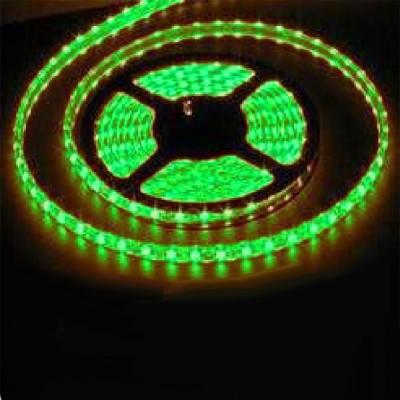 Светодиодная лента Smd 3528, 60 Led/м, 4.8W/м, 12V, IP33, свет зеленыйИнтерьерная<br>Светодиодная лента SMD 3528 используется для  подсветки архитектурных и интерьерных элементов. Арки, потолочные и декоративные ниши, подвесные потолки, барные стойки, светопрозрачные конструкции будут выгодно освещены, а пульт управления цветом позволит выбрать стиль освещения по вашему вкусу и настроению.  Гибкая светодиодная лента SMD 3528 выполнена на основе гибкой самоклеящейся печатной платы с прочным клеевым слоем «3М» и светодиодов с тремя кристаллами в одноим чипе. Имеется возможность деления на отрезки по 3 светодиода (10 см) без потери их работоспособности, каждый участок может использоваться отдельно. Работает на низковольтном напряжении 12V (постоянного тока DC), что обеспечивает безопасность и экономичность использования. Лента имеет 3 независимых канала для подключения к контроллеру. Широкий угол 140° (рассеянного) свечения. Эффективный срок службы более 50 000 часов.  Размер:5000 х 10 х 2 ммРабочее напряжение: 12V DCПотребляемая мощность: 4,8 Вт/метрСветовой поток: 150 Лм/мКол-во светодиодов: 60 шт./метрУгол излучения света: 140°Рабочая температура: -40 до 80 °CКратность резки: 5 см (3 светодиода)    Цена указана за 1 метр, минимальный заказ - 1 катушка (5 метров).<br><br>Тип лампы: LED - светодиодная<br>MAX мощность ламп, Вт: 4,8<br>Оттенок (цвет): зеленый