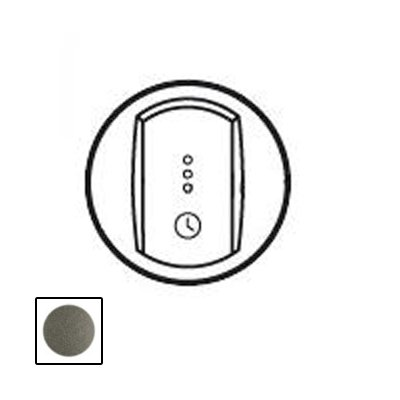 Legrand Celiane Графит Лицевая панель выключателя с выдержкой времениГрафит <br><br><br>Оттенок (цвет): серый
