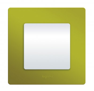 Legrand Etika Зел. Папоротник Рамка 4-ая 672544Legrand Etika<br><br><br>Оттенок (цвет): зеленый