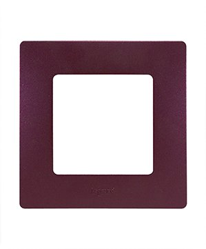 Legrand Etika Сливовый Рамка 3-ая 672563Legrand Etika<br><br><br>Оттенок (цвет): фиолетовый