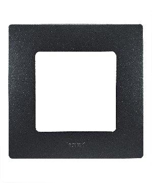 Legrand Etika Антрацит Рамка 5-ая 672585Legrand Etika<br><br><br>Оттенок (цвет): черный