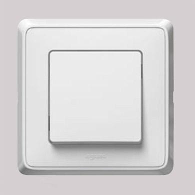 Legrand Cariva Белый Выключатель 1-клавишный 773656Белый<br><br><br>Оттенок (цвет): белый