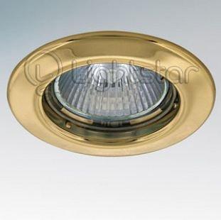 Lightstar TESO 11072 СветильникКруглые<br>Встраиваемые светильники – популярное осветительное оборудование, которое можно использовать в качестве основного источника или в дополнение к люстре. Они позволяют создать нужную атмосферу атмосферу и привнести в интерьер уют и комфорт. <br> Интернет-магазин «Светодом» предлагает стильный встраиваемый светильник Lightstar 11072. Данная модель достаточно универсальна, поэтому подойдет практически под любой интерьер. Перед покупкой не забудьте ознакомиться с техническими параметрами, чтобы узнать тип цоколя, площадь освещения и другие важные характеристики. <br> Приобрести встраиваемый светильник Lightstar 11072 в нашем онлайн-магазине Вы можете либо с помощью «Корзины», либо по контактным номерам. Мы развозим заказы по Москве, Екатеринбургу и остальным российским городам.<br><br>Тип цоколя: MR16 / gu5.3 / GU10<br>Количество ламп: 1<br>MAX мощность ламп, Вт: 50W<br>Размеры: Диаметр  врезного  отверстия<br>Цвет арматуры: Золотой