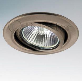 Lightstar TESO 11085 СветильникКруглые<br><br><br>Тип товара: Светильник<br>Скидка, %: 5<br>Тип лампы: галогенная/LED<br>Тип цоколя: MR16 / G5,3 / GU10<br>Количество ламп: 1<br>MAX мощность ламп, Вт: 50<br>Размеры: Диаметр  врезного  отверстия<br>Цвет арматуры: серебристый