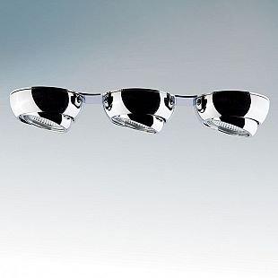Lightstar OCULA 11803 СветильникДекоративные<br>Встраиваемые светильники – популярное осветительное оборудование, которое можно использовать в качестве основного источника или в дополнение к люстре. Они позволяют создать нужную атмосферу атмосферу и привнести в интерьер уют и комфорт.   Интернет-магазин «Светодом» предлагает стильный встраиваемый светильник Lightstar 11803. Данная модель достаточно универсальна, поэтому подойдет практически под любой интерьер. Перед покупкой не забудьте ознакомиться с техническими параметрами, чтобы узнать тип цоколя, площадь освещения и другие важные характеристики.   Приобрести встраиваемый светильник Lightstar 11803 в нашем онлайн-магазине Вы можете либо с помощью «Корзины», либо по контактным номерам. Мы доставляем заказы по Москве, Екатеринбургу и остальным российским городам.<br><br>Тип товара: Светильник<br>Тип цоколя: MR16 / G5,3 / GU10<br>Количество ламп: 3<br>MAX мощность ламп, Вт: 50<br>Размеры: Диаметр врезного отверстия 3x65 Высота встраиваемой части 65 D 85x350 H 35<br>Цвет арматуры: серебристый