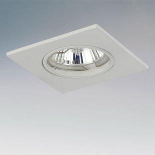 Lightstar LEGA16 11930 СветильникКвадратные<br><br><br>Тип товара: Светильник<br>Тип лампы: галогенная/LED<br>Тип цоколя: GU10/GZ10 12V/220V<br>Количество ламп: 1<br>MAX мощность ламп, Вт: 50<br>Размеры: H 3 Высота встраиваемой части 60 Диаметр врезного отверстия  75 W 85x85<br>Цвет арматуры: белый