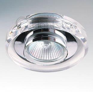 Lightstar SOLO 2040 СветильникКруглые<br>Встраиваемые светильники – популярное осветительное оборудование, которое можно использовать в качестве основного источника или в дополнение к люстре. Они позволяют создать нужную атмосферу атмосферу и привнести в интерьер уют и комфорт.   Интернет-магазин «Светодом» предлагает стильный встраиваемый светильник Lightstar 2040. Данная модель достаточно универсальна, поэтому подойдет практически под любой интерьер. Перед покупкой не забудьте ознакомиться с техническими параметрами, чтобы узнать тип цоколя, площадь освещения и другие важные характеристики.   Приобрести встраиваемый светильник Lightstar 2040 в нашем онлайн-магазине Вы можете либо с помощью «Корзины», либо по контактным номерам. Мы развозим заказы по Москве, Екатеринбургу и остальным российским городам.<br><br>Тип цоколя: MR16 / G5,3 / GU10<br>Количество ламп: 1<br>MAX мощность ламп, Вт: 50<br>Размеры: Диаметр вырезного отверстия<br>Цвет арматуры: серебристый