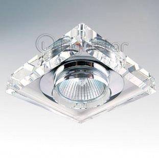 Lightstar SOLO 2050 СветильникХрустальные<br>Встраиваемые светильники – популярное осветительное оборудование, которое можно использовать в качестве основного источника или в дополнение к люстре. Они позволяют создать нужную атмосферу атмосферу и привнести в интерьер уют и комфорт.   Интернет-магазин «Светодом» предлагает стильный встраиваемый светильник Lightstar 2050. Данная модель достаточно универсальна, поэтому подойдет практически под любой интерьер. Перед покупкой не забудьте ознакомиться с техническими параметрами, чтобы узнать тип цоколя, площадь освещения и другие важные характеристики.   Приобрести встраиваемый светильник Lightstar 2050 в нашем онлайн-магазине Вы можете либо с помощью «Корзины», либо по контактным номерам. Мы развозим заказы по Москве, Екатеринбургу и остальным российским городам.<br><br>Тип цоколя: MR16 / gu5.3 / GU10<br>Количество ламп: 1<br>MAX мощность ламп, Вт: 50<br>Размеры: Диаметр вырезного отверстия<br>Цвет арматуры: серебристый