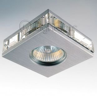 Lightstar ALUME 2109 СветильникКвадратные<br>Встраиваемые светильники – популярное осветительное оборудование, которое можно использовать в качестве основного источника или в дополнение к люстре. Они позволяют создать нужную атмосферу атмосферу и привнести в интерьер уют и комфорт.   Интернет-магазин «Светодом» предлагает стильный встраиваемый светильник Lightstar 2109. Данная модель достаточно универсальна, поэтому подойдет практически под любой интерьер. Перед покупкой не забудьте ознакомиться с техническими параметрами, чтобы узнать тип цоколя, площадь освещения и другие важные характеристики.   Приобрести встраиваемый светильник Lightstar 2109 в нашем онлайн-магазине Вы можете либо с помощью «Корзины», либо по контактным номерам. Мы развозим заказы по Москве, Екатеринбургу и остальным российским городам.<br><br>Тип лампы: галогенная/LED<br>Тип цоколя: MR16 / G5,3 / GU10<br>Количество ламп: 1<br>MAX мощность ламп, Вт: 50<br>Размеры: Диаметр вырезного отверстия<br>Цвет арматуры: серебристый