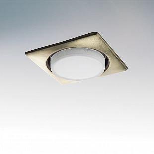 Lightstar TENSIO 212121 СветильникКвадратные LED<br>Встраиваемые светильники – популярное осветительное оборудование, которое можно использовать в качестве основного источника или в дополнение к люстре. Они позволяют создать нужную атмосферу атмосферу и привнести в интерьер уют и комфорт.   Интернет-магазин «Светодом» предлагает стильный встраиваемый светильник Lightstar 212121. Данная модель достаточно универсальна, поэтому подойдет практически под любой интерьер. Перед покупкой не забудьте ознакомиться с техническими параметрами, чтобы узнать тип цоколя, площадь освещения и другие важные характеристики.   Приобрести встраиваемый светильник Lightstar 212121 в нашем онлайн-магазине Вы можете либо с помощью «Корзины», либо по контактным номерам. Мы развозим заказы по Москве, Екатеринбургу и остальным российским городам.<br><br>Тип цоколя: GX53<br>Количество ламп: 1<br>MAX мощность ламп, Вт: 13<br>Размеры: H 30 W 110 L 110 Диаметр врезного отверстия<br>Цвет арматуры: бронзовый
