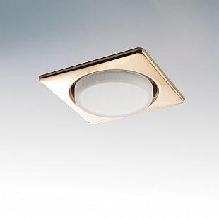 Lightstar TENSIO 212122 СветильникКвадратные LED<br>Встраиваемые светильники – популярное осветительное оборудование, которое можно использовать в качестве основного источника или в дополнение к люстре. Они позволяют создать нужную атмосферу атмосферу и привнести в интерьер уют и комфорт. <br> Интернет-магазин «Светодом» предлагает стильный встраиваемый светильник Lightstar 212122. Данная модель достаточно универсальна, поэтому подойдет практически под любой интерьер. Перед покупкой не забудьте ознакомиться с техническими параметрами, чтобы узнать тип цоколя, площадь освещения и другие важные характеристики. <br> Приобрести встраиваемый светильник Lightstar 212122 в нашем онлайн-магазине Вы можете либо с помощью «Корзины», либо по контактным номерам. Мы развозим заказы по Москве, Екатеринбургу и остальным российским городам.<br><br>Тип цоколя: GX53<br>Количество ламп: 1<br>MAX мощность ламп, Вт: 13<br>Размеры: H 30 W 110 L 110 Диаметр врезного отверстия<br>Цвет арматуры: Золотой