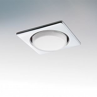 Светильник Lightstar 212124 TENSIOСветодиодные квадратные светильники<br>Встраиваемые светильники – популярное осветительное оборудование, которое можно использовать в качестве основного источника или в дополнение к люстре. Они позволяют создать нужную атмосферу атмосферу и привнести в интерьер уют и комфорт. <br> Интернет-магазин «Светодом» предлагает стильный встраиваемый светильник Lightstar 212124. Данная модель достаточно универсальна, поэтому подойдет практически под любой интерьер. Перед покупкой не забудьте ознакомиться с техническими параметрами, чтобы узнать тип цоколя, площадь освещения и другие важные характеристики. <br> Приобрести встраиваемый светильник Lightstar 212124 в нашем онлайн-магазине Вы можете либо с помощью «Корзины», либо по контактным номерам. Мы развозим заказы по Москве, Екатеринбургу и остальным российским городам.<br><br>Тип цоколя: GX53<br>Цвет арматуры: серебристый<br>Количество ламп: 1<br>Размеры: H 30 W 110 L 110 Диаметр врезного отверстия<br>MAX мощность ламп, Вт: 13