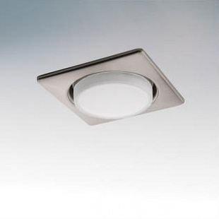 Lightstar TENSIO 212125 СветильникКвадратные LED<br>Встраиваемые светильники – популярное осветительное оборудование, которое можно использовать в качестве основного источника или в дополнение к люстре. Они позволяют создать нужную атмосферу атмосферу и привнести в интерьер уют и комфорт.   Интернет-магазин «Светодом» предлагает стильный встраиваемый светильник Lightstar 212125. Данная модель достаточно универсальна, поэтому подойдет практически под любой интерьер. Перед покупкой не забудьте ознакомиться с техническими параметрами, чтобы узнать тип цоколя, площадь освещения и другие важные характеристики.   Приобрести встраиваемый светильник Lightstar 212125 в нашем онлайн-магазине Вы можете либо с помощью «Корзины», либо по контактным номерам. Мы развозим заказы по Москве, Екатеринбургу и остальным российским городам.<br><br>Тип цоколя: GX53<br>Количество ламп: 1<br>MAX мощность ламп, Вт: 13<br>Размеры: H 30 W 110 L 110 Диаметр врезного отверстия<br>Цвет арматуры: серебристый