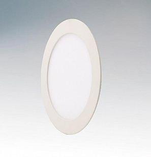 Lightstar ZOCCO 213720 СветильникСветодиодные<br><br><br>Тип товара: Светильник<br>Тип цоколя: LED<br>Количество ламп: светодиодная панель 12W<br>Размеры: D170, врезной диаметр 150,5