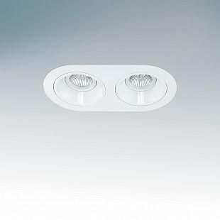 Lightstar AVANZA 214620 СветильникОвальные<br>Встраиваемые светильники – популярное осветительное оборудование, которое можно использовать в качестве основного источника или в дополнение к люстре. Они позволяют создать нужную атмосферу атмосферу и привнести в интерьер уют и комфорт.   Интернет-магазин «Светодом» предлагает стильный встраиваемый светильник Lightstar 214620. Данная модель достаточно универсальна, поэтому подойдет практически под любой интерьер. Перед покупкой не забудьте ознакомиться с техническими параметрами, чтобы узнать тип цоколя, площадь освещения и другие важные характеристики.   Приобрести встраиваемый светильник Lightstar 214620 в нашем онлайн-магазине Вы можете либо с помощью «Корзины», либо по контактным номерам. Мы развозим заказы по Москве, Екатеринбургу и остальным российским городам.<br><br>Тип лампы: галогенная/LED<br>Тип цоколя: MR16 Gu5.3<br>Количество ламп: 2<br>Ширина, мм: 110<br>MAX мощность ламп, Вт: 50<br>Размеры: H 2 W 210x110 Высота врезного отверстия 85 размер врезного отверстия 182x80<br>Длина, мм: 210<br>Высота, мм: 2<br>Цвет арматуры: белый