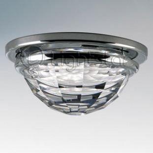 Lightstar DIVA 30004 СветильникХрустальные<br>Встраиваемые светильники – популярное осветительное оборудование, которое можно использовать в качестве основного источника или в дополнение к люстре. Они позволяют создать нужную атмосферу атмосферу и привнести в интерьер уют и комфорт.   Интернет-магазин «Светодом» предлагает стильный встраиваемый светильник Lightstar 30004. Данная модель достаточно универсальна, поэтому подойдет практически под любой интерьер. Перед покупкой не забудьте ознакомиться с техническими параметрами, чтобы узнать тип цоколя, площадь освещения и другие важные характеристики.   Приобрести встраиваемый светильник Lightstar 30004 в нашем онлайн-магазине Вы можете либо с помощью «Корзины», либо по контактным номерам. Мы развозим заказы по Москве, Екатеринбургу и остальным российским городам.<br><br>Тип цоколя: MR16 / gu5.3 / GU10<br>Количество ламп: 1<br>MAX мощность ламп, Вт: 35<br>Размеры: Диаметр вырезного отверстия<br>Цвет арматуры: серебристый