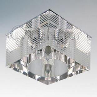 Lightstar QUBE 4055 СветильникКвадратные<br>Встраиваемые светильники – популярное осветительное оборудование, которое можно использовать в качестве основного источника или в дополнение к люстре. Они позволяют создать нужную атмосферу атмосферу и привнести в интерьер уют и комфорт.   Интернет-магазин «Светодом» предлагает стильный встраиваемый светильник Lightstar 4055. Данная модель достаточно универсальна, поэтому подойдет практически под любой интерьер. Перед покупкой не забудьте ознакомиться с техническими параметрами, чтобы узнать тип цоколя, площадь освещения и другие важные характеристики.   Приобрести встраиваемый светильник Lightstar 4055 в нашем онлайн-магазине Вы можете либо с помощью «Корзины», либо по контактным номерам. Мы развозим заказы по Москве, Екатеринбургу и остальным российским городам.<br><br>Тип лампы: галогенная/LED<br>Тип цоколя: 12В/220В G4<br>Количество ламп: 1<br>MAX мощность ламп, Вт: 35<br>Размеры: Диаметр вырезного отверстия<br>Цвет арматуры: серебристый