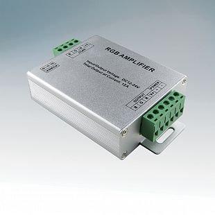 Усилитель для светодиодной лентыLED RGB Lightstar 410704Усилители RGB<br><br><br>Количество ламп: 3<br>Размеры: L105 W62 H25<br>MAX мощность ламп, Вт: 50