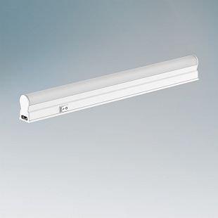 Lightstar T5 450044 СветильникСветодиодные LED<br><br><br>Тип цоколя: LED<br>Количество ламп: 4<br>MAX мощность ламп, Вт: 1W<br>Размеры: W22 H35 L300<br>Цвет арматуры: белый