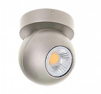 Lightstar GLOBO 51009 СветильникОдиночные<br>Светильники-споты – это оригинальные изделия с современным дизайном. Они позволяют не ограничивать свою фантазию при выборе освещения для интерьера. Такие модели обеспечивают достаточно качественный свет. Благодаря компактным размерам Вы можете использовать несколько спотов для одного помещения.  Интернет-магазин «Светодом» предлагает необычный светильник-спот Lightstar 51009 по привлекательной цене. Эта модель станет отличным дополнением к люстре, выполненной в том же стиле. Перед оформлением заказа изучите характеристики изделия.  Купить светильник-спот Lightstar 51009 в нашем онлайн-магазине Вы можете либо с помощью формы на сайте, либо по указанным выше телефонам. Обратите внимание, что у нас склады не только в Москве и Екатеринбурге, но и других городах России.<br><br>S освещ. до, м2: 4<br>Тип цоколя: Led<br>Цвет арматуры: серебристый<br>Количество ламп: 8W<br>Размеры: H98 D80<br>Оттенок (цвет): ТИТАН