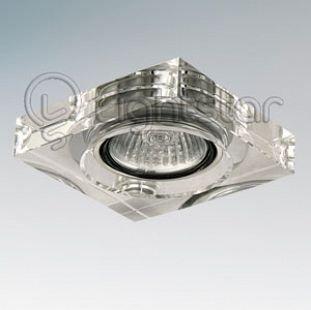Lightstar LUI 6160 СветильникКвадратные<br>Встраиваемые светильники – популярное осветительное оборудование, которое можно использовать в качестве основного источника или в дополнение к люстре. Они позволяют создать нужную атмосферу атмосферу и привнести в интерьер уют и комфорт.   Интернет-магазин «Светодом» предлагает стильный встраиваемый светильник Lightstar 6160. Данная модель достаточно универсальна, поэтому подойдет практически под любой интерьер. Перед покупкой не забудьте ознакомиться с техническими параметрами, чтобы узнать тип цоколя, площадь освещения и другие важные характеристики.   Приобрести встраиваемый светильник Lightstar 6160 в нашем онлайн-магазине Вы можете либо с помощью «Корзины», либо по контактным номерам. Мы развозим заказы по Москве, Екатеринбургу и остальным российским городам.<br><br>Тип лампы: галогенная/LED<br>Тип цоколя: 12В MR11<br>Количество ламп: 1<br>Размеры: Диаметр вырезного отверстия<br>MAX мощность ламп, Вт: 50