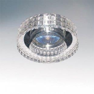 Lightstar LEI 6350 СветильникДекоративные<br>Встраиваемые светильники – популярное осветительное оборудование, которое можно использовать в качестве основного источника или в дополнение к люстре. Они позволяют создать нужную атмосферу атмосферу и привнести в интерьер уют и комфорт.   Интернет-магазин «Светодом» предлагает стильный встраиваемый светильник Lightstar 6350. Данная модель достаточно универсальна, поэтому подойдет практически под любой интерьер. Перед покупкой не забудьте ознакомиться с техническими параметрами, чтобы узнать тип цоколя, площадь освещения и другие важные характеристики.   Приобрести встраиваемый светильник Lightstar 6350 в нашем онлайн-магазине Вы можете либо с помощью «Корзины», либо по контактным номерам. Мы развозим заказы по Москве, Екатеринбургу и остальным российским городам.<br><br>Тип лампы: галогенная/LED<br>Тип цоколя: GU10+GU5<br>Количество ламп: 2<br>MAX мощность ламп, Вт: 50<br>Размеры: D 100 H 30 Диаметр врезного отверстия 55 Глубина 22<br>Цвет арматуры: серебристый