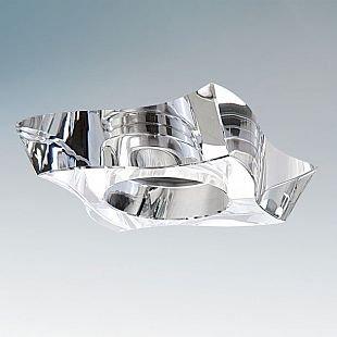 Lightstar FLUTTO 6430 СветильникХрустальные<br>Встраиваемые светильники – популярное осветительное оборудование, которое можно использовать в качестве основного источника или в дополнение к люстре. Они позволяют создать нужную атмосферу атмосферу и привнести в интерьер уют и комфорт.   Интернет-магазин «Светодом» предлагает стильный встраиваемый светильник Lightstar 6430. Данная модель достаточно универсальна, поэтому подойдет практически под любой интерьер. Перед покупкой не забудьте ознакомиться с техническими параметрами, чтобы узнать тип цоколя, площадь освещения и другие важные характеристики.   Приобрести встраиваемый светильник Lightstar 6430 в нашем онлайн-магазине Вы можете либо с помощью «Корзины», либо по контактным номерам. Мы развозим заказы по Москве, Екатеринбургу и остальным российским городам.<br><br>Тип цоколя: MR16 / gu5.3 / GU10<br>Цвет арматуры: серебристый<br>Количество ламп: 1<br>Размеры: Диаметр врезного отверстия 60 Высота встраиваемой части 60 D 100x100 H 20<br>MAX мощность ламп, Вт: 50
