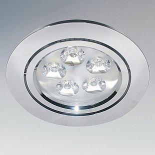 Lightstar ACUTO 70054 СветильникКруглые<br>Встраиваемые светильники – популярное осветительное оборудование, которое можно использовать в качестве основного источника или в дополнение к люстре. Они позволяют создать нужную атмосферу атмосферу и привнести в интерьер уют и комфорт.   Интернет-магазин «Светодом» предлагает стильный встраиваемый светильник Lightstar 70054. Данная модель достаточно универсальна, поэтому подойдет практически под любой интерьер. Перед покупкой не забудьте ознакомиться с техническими параметрами, чтобы узнать тип цоколя, площадь освещения и другие важные характеристики.   Приобрести встраиваемый светильник Lightstar 70054 в нашем онлайн-магазине Вы можете либо с помощью «Корзины», либо по контактным номерам. Мы развозим заказы по Москве, Екатеринбургу и остальным российским городам.<br><br>Тип цоколя: LED<br>Количество ламп: 5<br>MAX мощность ламп, Вт: 1<br>Размеры: D 105 H 3 Высота встраиваемой части 57 Диаметр врезного отверстия  87<br>Цвет арматуры: серебристый
