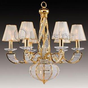Lightstar ALVEARE 702102 Люстра хрустальнаяПодвесные<br><br><br>S освещ. до, м2: 20<br>Тип товара: Люстра хрустальная<br>Тип цоколя: E14<br>Количество ламп: 10<br>MAX мощность ламп, Вт: 40<br>Размеры: H 850-1850 D 750<br>Цвет арматуры: золотой