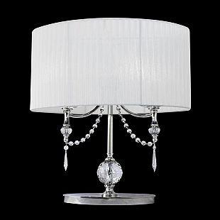 Настольная лампа Lightstar 725926 PARALUMEКлассические настольные лампы<br><br><br>Тип цоколя: E14<br>Количество ламп: 2<br>Размеры: H min-max500 W300 L500<br>Оттенок (цвет): БЕЛЫЙ<br>MAX мощность ламп, Вт: 40w