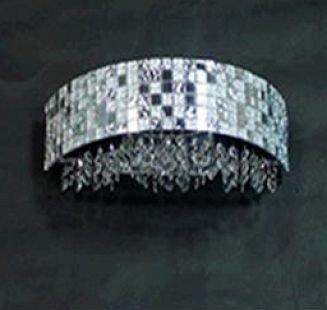 Lightstar BEZAZZ 743624 Светильник настенный браХрустальные<br><br><br>Тип товара: Светильник настенный бра<br>Тип цоколя: G9<br>Количество ламп: 2<br>MAX мощность ламп, Вт: 40<br>Цвет арматуры: серебристый