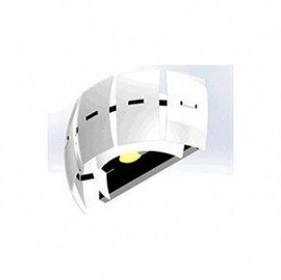 Lightstar LAMELLA 801626 Светильник настенный браХай-тек<br><br><br>Тип цоколя: E14<br>Количество ламп: 2<br>MAX мощность ламп, Вт: 40<br>Оттенок (цвет): БЕЛЫЙ<br>Цвет арматуры: серебристый