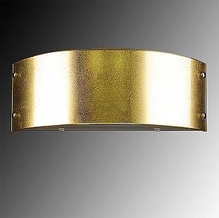 Lightstar CUPOLA 803522 Светильник настенный браСовременные<br><br><br>Количество ламп: 2<br>MAX мощность ламп, Вт: 40<br>Размеры: H120  W330  отступ<br>Оттенок (цвет): СОСТАРЕННОЕ ЗОЛОТО<br>Цвет арматуры: Золотой