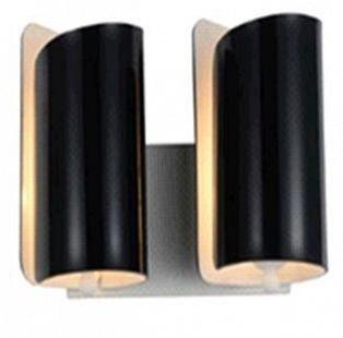 Lightstar PITTORE 811627 Светильник настенный браСовременные<br><br><br>Тип цоколя: E27<br>Количество ламп: 2<br>Оттенок (цвет): ЧЕРНЫЙ/БЕЛЫЙ<br>MAX мощность ламп, Вт: 40