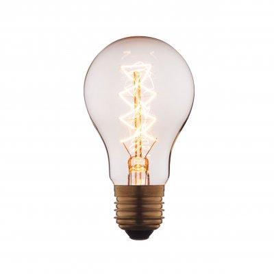 Ретро лампа Loft it 1003-CЛампы накаливания ретро стиля<br>В интернет-магазине «Светодом» можно купить не только люстры и светильники, но и лампочки. В нашем каталоге представлены светодиодные, галогенные, энергосберегающие модели и лампы накаливания. В ассортименте имеются изделия разной мощности, поэтому у нас Вы сможете приобрести все необходимое для освещения. <br> Лампа Loft it 1003-C обеспечит отличное качество освещения. При покупке ознакомьтесь с параметрами в разделе «Характеристики», чтобы не ошибиться в выборе. Там же указано, для каких осветительных приборов Вы можете использовать лампу Loft it 1003-CLoft it 1003-C. <br> Для оформления покупки воспользуйтесь «Корзиной». При наличии вопросов Вы можете позвонить нашим менеджерам по одному из контактных номеров. Мы доставляем заказы в Москву, Екатеринбург и другие города России.<br><br>Тип цоколя: E27<br>MAX мощность ламп, Вт: 40
