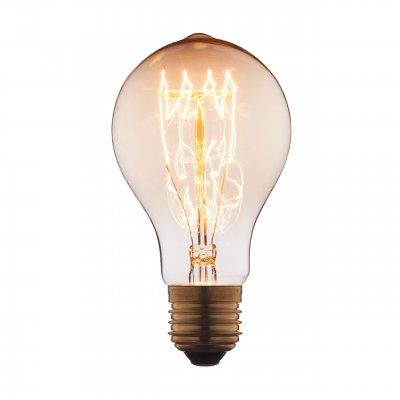 Ретро лампа Loft it 1003-SCЛампы накаливания ретро стиля<br>В интернет-магазине «Светодом» можно купить не только люстры и светильники, но и лампочки. В нашем каталоге представлены светодиодные, галогенные, энергосберегающие модели и лампы накаливания. В ассортименте имеются изделия разной мощности, поэтому у нас Вы сможете приобрести все необходимое для освещения. <br> Лампа Loft it 1003-SC обеспечит отличное качество освещения. При покупке ознакомьтесь с параметрами в разделе «Характеристики», чтобы не ошибиться в выборе. Там же указано, для каких осветительных приборов Вы можете использовать лампу Loft it 1003-SCLoft it 1003-SC. <br> Для оформления покупки воспользуйтесь «Корзиной». При наличии вопросов Вы можете позвонить нашим менеджерам по одному из контактных номеров. Мы доставляем заказы в Москву, Екатеринбург и другие города России.<br><br>Тип цоколя: E27<br>MAX мощность ламп, Вт: 40