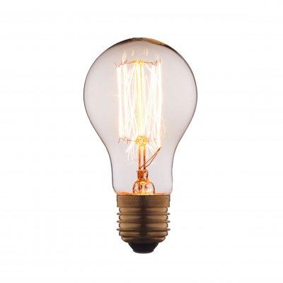 Ретро лампа Loft it 1003-TРетро лампы<br>В интернет-магазине «Светодом» можно купить не только люстры и светильники, но и лампочки. В нашем каталоге представлены светодиодные, галогенные, энергосберегающие модели и лампы накаливания. В ассортименте имеются изделия разной мощности, поэтому у нас Вы сможете приобрести все необходимое для освещения. <br> Лампа Loft it 1003-T обеспечит отличное качество освещения. При покупке ознакомьтесь с параметрами в разделе «Характеристики», чтобы не ошибиться в выборе. Там же указано, для каких осветительных приборов Вы можете использовать лампу Loft it 1003-TLoft it 1003-T. <br> Для оформления покупки воспользуйтесь «Корзиной». При наличии вопросов Вы можете позвонить нашим менеджерам по одному из контактных номеров. Мы доставляем заказы в Москву, Екатеринбург и другие города России.<br><br>Тип цоколя: E27<br>MAX мощность ламп, Вт: 40