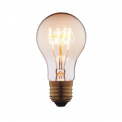 Ретро лампа Loft it 1004-SCЛампы накаливания ретро стиля<br>В интернет-магазине «Светодом» можно купить не только люстры и светильники, но и лампочки. В нашем каталоге представлены светодиодные, галогенные, энергосберегающие модели и лампы накаливания. В ассортименте имеются изделия разной мощности, поэтому у нас Вы сможете приобрести все необходимое для освещения. <br> Лампа Loft it 1004-SC обеспечит отличное качество освещения. При покупке ознакомьтесь с параметрами в разделе «Характеристики», чтобы не ошибиться в выборе. Там же указано, для каких осветительных приборов Вы можете использовать лампу Loft it 1004-SCLoft it 1004-SC. <br> Для оформления покупки воспользуйтесь «Корзиной». При наличии вопросов Вы можете позвонить нашим менеджерам по одному из контактных номеров. Мы доставляем заказы в Москву, Екатеринбург и другие города России.<br><br>Тип цоколя: E27<br>MAX мощность ламп, Вт: 60