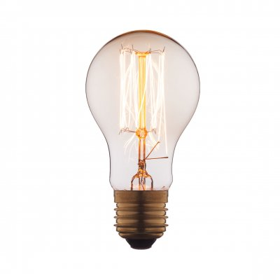 Ретро лампа Loft it 1004-TЛампы накаливания ретро стиля<br>В интернет-магазине «Светодом» можно купить не только люстры и светильники, но и лампочки. В нашем каталоге представлены светодиодные, галогенные, энергосберегающие модели и лампы накаливания. В ассортименте имеются изделия разной мощности, поэтому у нас Вы сможете приобрести все необходимое для освещения. <br> Лампа Loft it 1004-T обеспечит отличное качество освещения. При покупке ознакомьтесь с параметрами в разделе «Характеристики», чтобы не ошибиться в выборе. Там же указано, для каких осветительных приборов Вы можете использовать лампу Loft it 1004-TLoft it 1004-T. <br> Для оформления покупки воспользуйтесь «Корзиной». При наличии вопросов Вы можете позвонить нашим менеджерам по одному из контактных номеров. Мы доставляем заказы в Москву, Екатеринбург и другие города России.<br><br>Тип цоколя: E27<br>MAX мощность ламп, Вт: 60