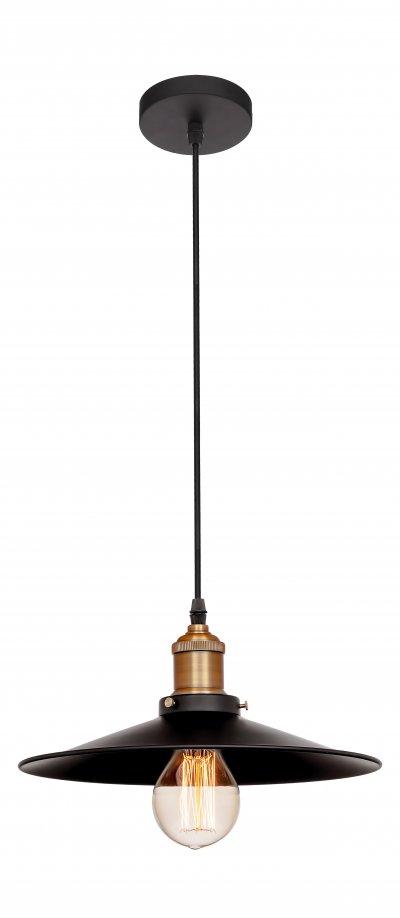 Подвесной светильник Loft it 1102подвесные люстры лофт<br>Компания «Светодом» предлагает широкий ассортимент люстр от известных производителей. Представленные в нашем каталоге товары выполнены из современных материалов и обладают отличным качеством. Благодаря широкому ассортименту Вы сможете найти у нас люстру под любой интерьер. Мы предлагаем как классические варианты, так и современные модели, отличающиеся лаконичностью и простотой форм.  Стильная люстра Loft it 1114 станет украшением любого дома. Эта модель от известного производителя не оставит равнодушным ценителей красивых и оригинальных предметов интерьера. Люстра Loft it 1114 обеспечит равномерное распределение света по всей комнате. При выборе обратите внимание на характеристики, позволяющие приобрести наиболее подходящую модель. Купить понравившуюся люстру по доступной цене Вы можете в интернет-магазине «Светодом». Мы предлагаем доставку не только по Москве и Екатеринбурге, но и по всей России.<br><br>Установка на натяжной потолок: Да<br>S освещ. до, м2: 3<br>Тип цоколя: E27<br>Цвет арматуры: черный матвый<br>Количество ламп: 1<br>Диаметр, мм мм: 300<br>Высота, мм: 1000<br>MAX мощность ламп, Вт: 60