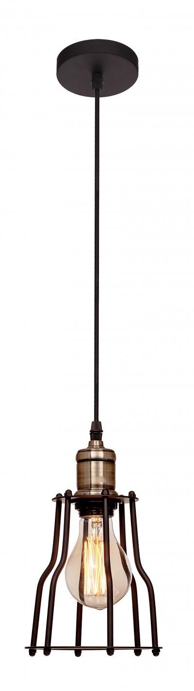 Подвесной светильник Loft it 1114Подвесные<br>Компания «Светодом» предлагает широкий ассортимент люстр от известных производителей. Представленные в нашем каталоге товары выполнены из современных материалов и обладают отличным качеством. Благодаря широкому ассортименту Вы сможете найти у нас люстру под любой интерьер. Мы предлагаем как классические варианты, так и современные модели, отличающиеся лаконичностью и простотой форм.  Стильная люстра Loft it 1124 станет украшением любого дома. Эта модель от известного производителя не оставит равнодушным ценителей красивых и оригинальных предметов интерьера. Люстра Loft it 1124 обеспечит равномерное распределение света по всей комнате. При выборе обратите внимание на характеристики, позволяющие приобрести наиболее подходящую модель. Купить понравившуюся люстру по доступной цене Вы можете в интернет-магазине «Светодом». Мы предлагаем доставку не только по Москве и Екатеринбурге, но и по всей России.<br><br>Установка на натяжной потолок: Да<br>S освещ. до, м2: 3<br>Тип цоколя: E27<br>Цвет арматуры: черный матвый<br>Количество ламп: 1<br>Диаметр, мм мм: 150<br>Высота, мм: 240 - 1000<br>MAX мощность ламп, Вт: 60