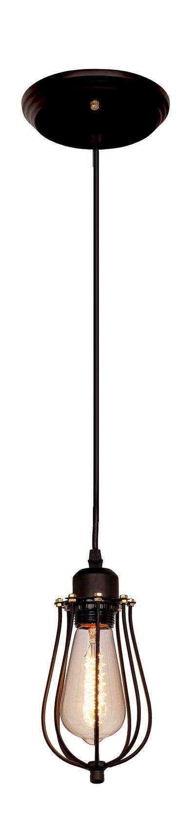 Подвесной светильник Loft it 1124Подвесные<br>Компания «Светодом» предлагает широкий ассортимент люстр от известных производителей. Представленные в нашем каталоге товары выполнены из современных материалов и обладают отличным качеством. Благодаря широкому ассортименту Вы сможете найти у нас люстру под любой интерьер. Мы предлагаем как классические варианты, так и современные модели, отличающиеся лаконичностью и простотой форм.  Стильная люстра Loft it 1127 станет украшением любого дома. Эта модель от известного производителя не оставит равнодушным ценителей красивых и оригинальных предметов интерьера. Люстра Loft it 1127 обеспечит равномерное распределение света по всей комнате. При выборе обратите внимание на характеристики, позволяющие приобрести наиболее подходящую модель. Купить понравившуюся люстру по доступной цене Вы можете в интернет-магазине «Светодом». Мы предлагаем доставку не только по Москве и Екатеринбурге, но и по всей России.<br><br>Установка на натяжной потолок: Да<br>S освещ. до, м2: 3<br>Тип цоколя: E27<br>Цвет арматуры: черный матовый<br>Количество ламп: 1<br>Диаметр, мм мм: 140<br>Высота, мм: 300 - 1000<br>MAX мощность ламп, Вт: 60