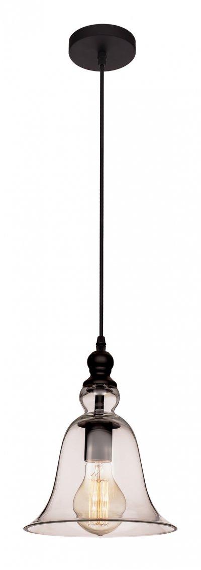 Подвесной светильник Loft it 1812подвесные люстры лофт<br>Компания «Светодом» предлагает широкий ассортимент люстр от известных производителей. Представленные в нашем каталоге товары выполнены из современных материалов и обладают отличным качеством. Благодаря широкому ассортименту Вы сможете найти у нас люстру под любой интерьер. Мы предлагаем как классические варианты, так и современные модели, отличающиеся лаконичностью и простотой форм.  Стильная люстра Loft it 1814 станет украшением любого дома. Эта модель от известного производителя не оставит равнодушным ценителей красивых и оригинальных предметов интерьера. Люстра Loft it 1814 обеспечит равномерное распределение света по всей комнате. При выборе обратите внимание на характеристики, позволяющие приобрести наиболее подходящую модель. Купить понравившуюся люстру по доступной цене Вы можете в интернет-магазине «Светодом». Мы предлагаем доставку не только по Москве и Екатеринбурге, но и по всей России.<br><br>Установка на натяжной потолок: Да<br>S освещ. до, м2: 3<br>Тип цоколя: E27<br>Цвет арматуры: черный<br>Количество ламп: 1<br>Диаметр, мм мм: 200<br>Высота, мм: 1500<br>MAX мощность ламп, Вт: 60
