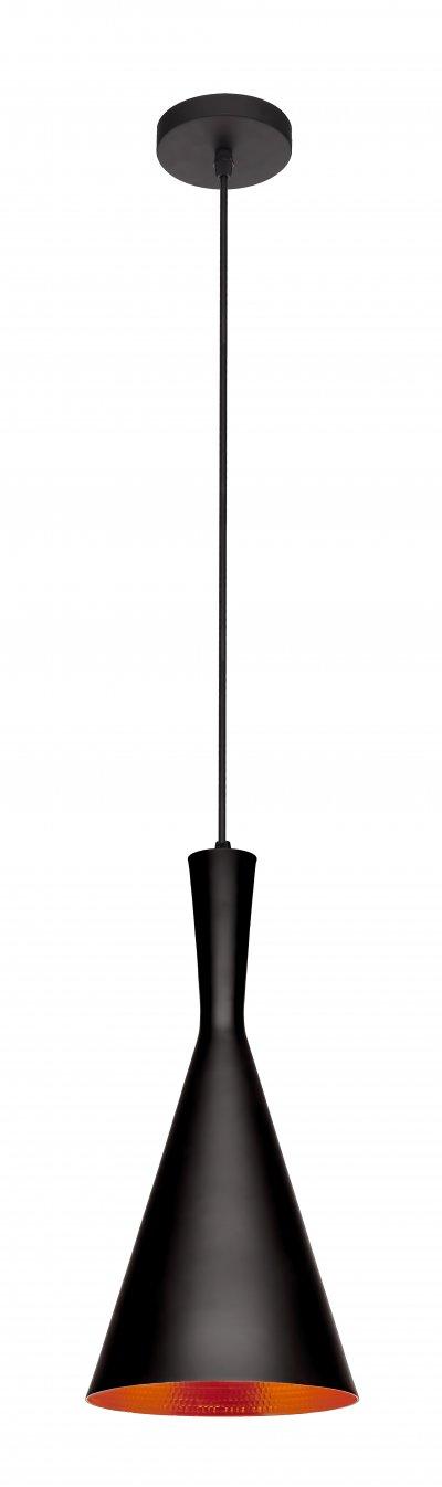 Подвесной светильник Loft it 1843/CПодвесные<br>Компания «Светодом» предлагает широкий ассортимент люстр от известных производителей. Представленные в нашем каталоге товары выполнены из современных материалов и обладают отличным качеством. Благодаря широкому ассортименту Вы сможете найти у нас люстру под любой интерьер. Мы предлагаем как классические варианты, так и современные модели, отличающиеся лаконичностью и простотой форм.  Стильная люстра Loft it 1844/A станет украшением любого дома. Эта модель от известного производителя не оставит равнодушным ценителей красивых и оригинальных предметов интерьера. Люстра Loft it 1844/A обеспечит равномерное распределение света по всей комнате. При выборе обратите внимание на характеристики, позволяющие приобрести наиболее подходящую модель. Купить понравившуюся люстру по доступной цене Вы можете в интернет-магазине «Светодом». Мы предлагаем доставку не только по Москве и Екатеринбурге, но и по всей России.<br><br>Установка на натяжной потолок: Да<br>S освещ. до, м2: 3<br>Тип цоколя: E27<br>Цвет арматуры: черный матовый/золото<br>Количество ламп: 1<br>Диаметр, мм мм: 180<br>Высота, мм: 1500<br>MAX мощность ламп, Вт: 40