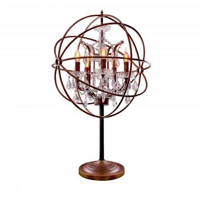Настольная лампа Loft it 1897TХрустальные<br>Настольная лампа – это не просто источник дополнительного освещения, но и оригинальный элемент декора. Его можно установить в спальне, гостиной, кабинете и других комнатах. Интернет-магазин «Светодом» предлагает настольные лампы разных стилей по доступным ценам. Благодаря большому ассортименту Вы обязательно найдете в нашем каталоге именно ту модель, которую искали. <br> Настольная лампа Loft it 1897T – прекрасный вариант для завершения интерьера. Ее можно включить одновременно с люстрой для более яркого освещения или без нее для создания уютной атмосферы, настраивающей на отдых. <br> Купить настольную лампу Loft it 1897T Вы можете с помощью виртуальной «Корзины» или по контактным номерам, указанным на сайте.<br><br>Цвет арматуры: Коричневый состаренный