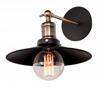 Настенный светильник бра Loft it 2101Wбра в стиле лофт<br><br><br>Цвет арматуры: черный матовый