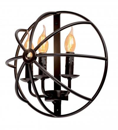 Настенный светильник бра Loft it 1192W (2143W)Лофт<br><br><br>Цвет арматуры: Тёмно-коричневый
