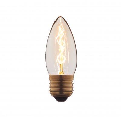Ретро лампа Loft it 3540-EЛампы накаливания ретро стиля<br>В интернет-магазине «Светодом» можно купить не только люстры и светильники, но и лампочки. В нашем каталоге представлены светодиодные, галогенные, энергосберегающие модели и лампы накаливания. В ассортименте имеются изделия разной мощности, поэтому у нас Вы сможете приобрести все необходимое для освещения. <br> Лампа Loft it 3540-E обеспечит отличное качество освещения. При покупке ознакомьтесь с параметрами в разделе «Характеристики», чтобы не ошибиться в выборе. Там же указано, для каких осветительных приборов Вы можете использовать лампу Loft it 3540-ELoft it 3540-E. <br> Для оформления покупки воспользуйтесь «Корзиной». При наличии вопросов Вы можете позвонить нашим менеджерам по одному из контактных номеров. Мы доставляем заказы в Москву, Екатеринбург и другие города России.<br><br>Тип цоколя: E27<br>MAX мощность ламп, Вт: 40