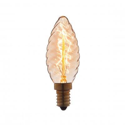 Ретро лампа Loft it 3560-LTЛампы накаливания ретро стиля<br>В интернет-магазине «Светодом» можно купить не только люстры и светильники, но и лампочки. В нашем каталоге представлены светодиодные, галогенные, энергосберегающие модели и лампы накаливания. В ассортименте имеются изделия разной мощности, поэтому у нас Вы сможете приобрести все необходимое для освещения. <br> Лампа Loft it 3560-LT обеспечит отличное качество освещения. При покупке ознакомьтесь с параметрами в разделе «Характеристики», чтобы не ошибиться в выборе. Там же указано, для каких осветительных приборов Вы можете использовать лампу Loft it 3560-LTLoft it 3560-LT. <br> Для оформления покупки воспользуйтесь «Корзиной». При наличии вопросов Вы можете позвонить нашим менеджерам по одному из контактных номеров. Мы доставляем заказы в Москву, Екатеринбург и другие города России.<br><br>Тип цоколя: E14<br>MAX мощность ламп, Вт: 60